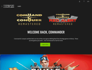 commandandconquer.com screenshot
