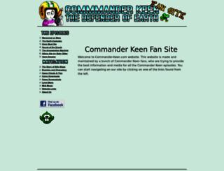 commander-keen.com screenshot