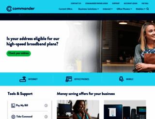 commander.com.au screenshot