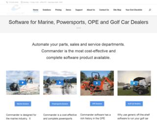 commanderne.com screenshot