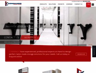 commando.com.au screenshot