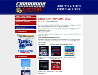 commando.tecommandpost.com screenshot