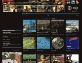 commandogames.net screenshot