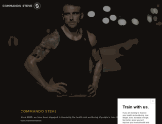 commandosteve.com screenshot