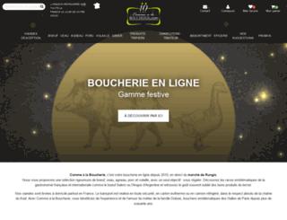 comme-a-la-boucherie.com screenshot