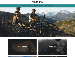 commencal-jp.com screenshot