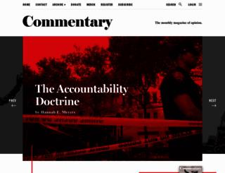 commentarymagazine.com screenshot