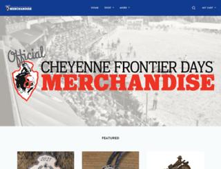 commerce.cfdrodeo.com screenshot