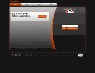 commerce.rfactor.net screenshot