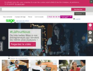 commerce.sage.com screenshot