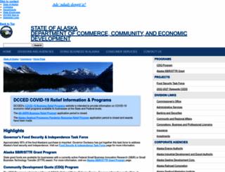 commerce.state.ak.us screenshot