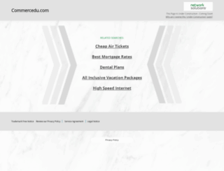 commercedu.com screenshot