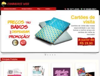 commerceweb.com.br screenshot