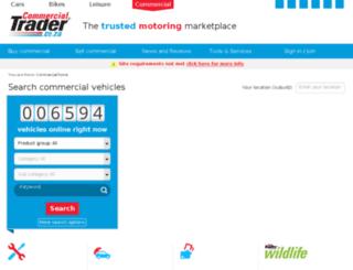 commercial.autotrader.co.za screenshot