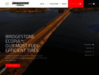 commercial.bridgestone.com screenshot