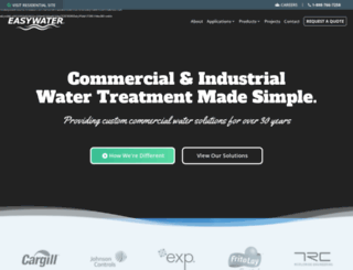 commercial.easywater.com screenshot