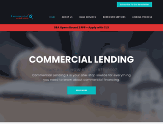 commerciallendingx.com screenshot