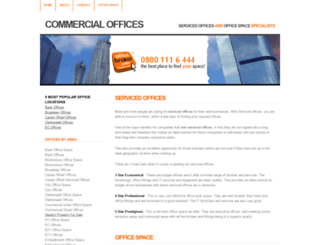 commercialoffices.co.uk screenshot