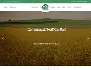 commercialpestcontrol.co.in screenshot