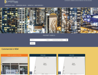 commercialpremises.com.au screenshot