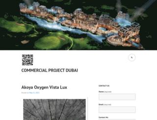commercialprojectdubai.wordpress.com screenshot