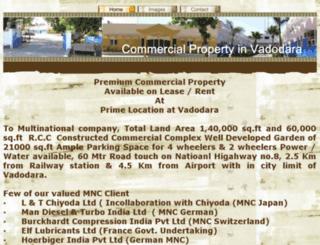 commercialpropertyinvadodara.com screenshot
