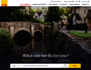 commercialsearch.savills.co.uk screenshot