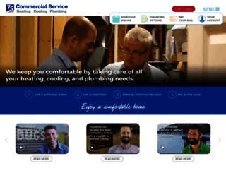 commercialservice.com screenshot