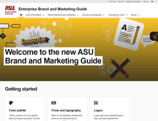 commguide.asu.edu screenshot