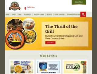 commissaries.com screenshot