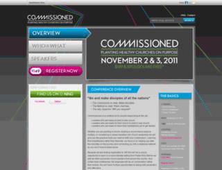 commissioned.saddleback.com screenshot