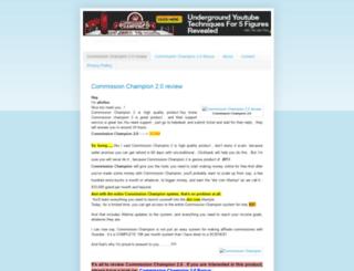 commissonchampion2review.blogspot.com screenshot