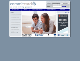 commitcard.de screenshot