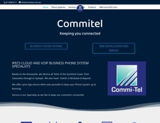 commitel.com.au screenshot