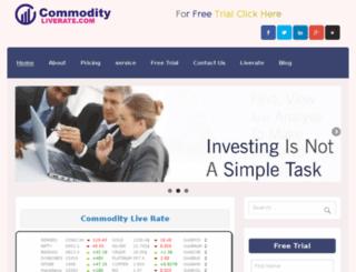 commodityliverate.com screenshot