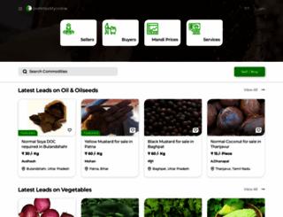 commodityonline.com screenshot
