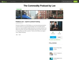 commoditywatch.podbean.com screenshot