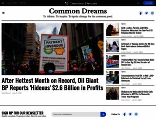 commondreams.org screenshot