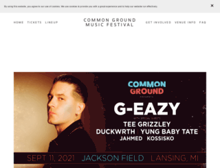 commongroundfest.com screenshot
