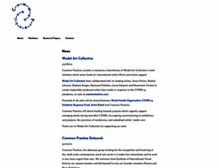 commonpractice.org.uk screenshot