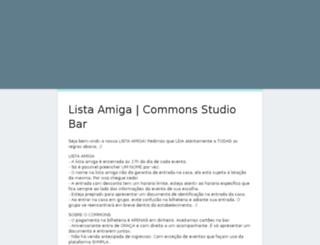 commons.com.br screenshot