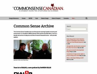 commonsensecanadian.ca screenshot
