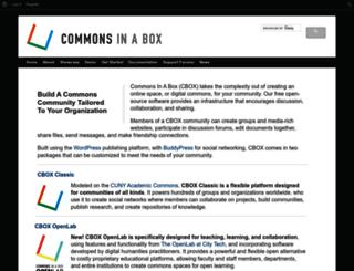 commonsinabox.org screenshot