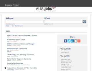 commonwealthbank.com.au.jobs screenshot