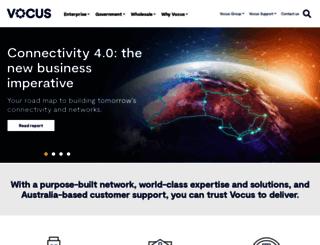 comms.vocus.com.au screenshot