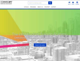 commscopetraining.com screenshot