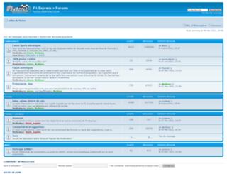 communaute.f1-express.net screenshot