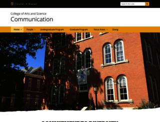 communication.missouri.edu screenshot