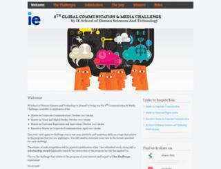 communicationchallenges.ie.edu screenshot