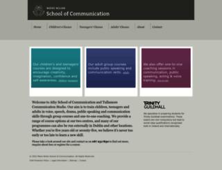 communicationschool.ie screenshot